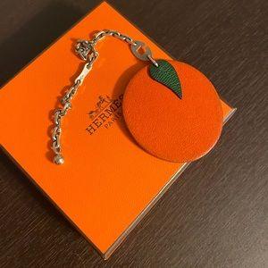 Hermes authentic charm orange 🍊 fruit